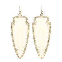 Kendra Scott Skylar Drop Earrings Mother of Pearl