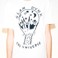 SLAM DUNK THE UNIVERSE - TEE | 100 PERCENT ZERO