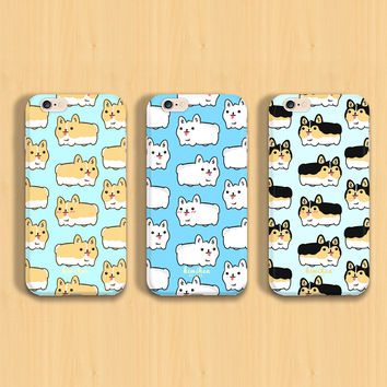Cute Pembroke Welsh Corgi Loaf iPhone Case