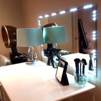 Lighted Makeup 10ft Vanity LED Kit with Dimmer
