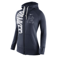 Nike Dri-FIT Obsessed Full-Zip (MLB Yankees) Women's Hoodie