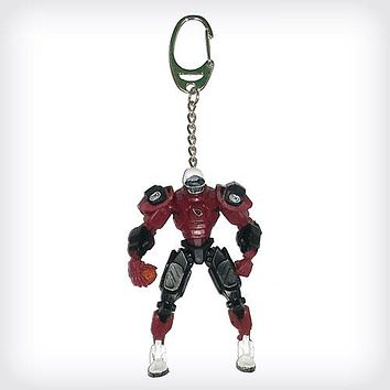 Arizona Cardinals Keychain Fox Robot 3 Inch Mini Cleats