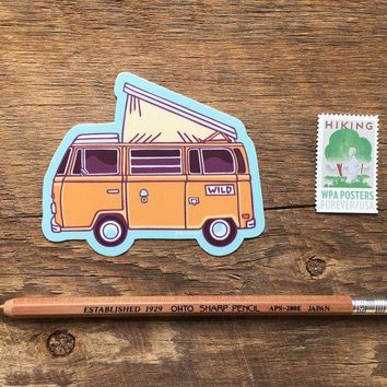 Camper Sticker