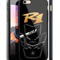Top Famous Yamaha Logo R1 Hard Case For iPhone 6 6+ 6s 6s+ 7 7+ 8 8+ X Cover