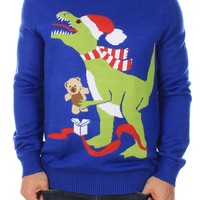 T-Rex Christmas Sweater | Tipsy Elves