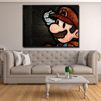 Mario Wall Art Canvas Set