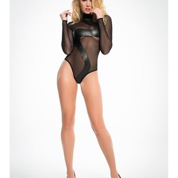 Adore A1025 Women's  Wild Sheer Bodysuit