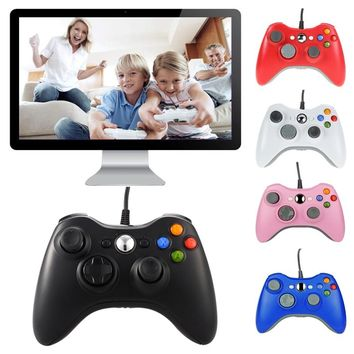USB Wired Joypad Gamepad Gaming Controller For Microsoft for Xbox Slim 360 for PC Gamer Android Smart TV Box Joystick Game Pad