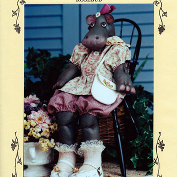 Pattern: Rosebud The Hippopotamus Fruitfull Hands 58