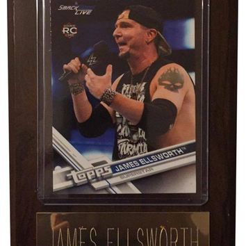 "James Ellsworth 4"" x 6"" WWE Wrestling Plaque"