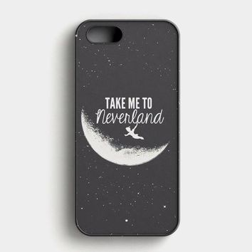 Peter Pan Take To Me Neverland iPhone SE Case