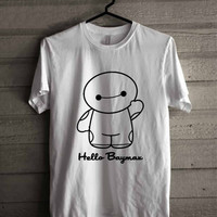BAYMAX Hello Baymax shirt for man and woman shirt / tshirt / custom shirt