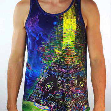 Jonathan Solter - Men's Active Tank Top - Terra | Vision Lab