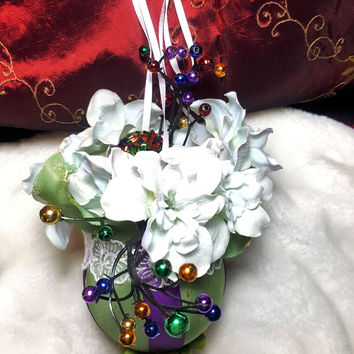 Winter Bouquet Ornament