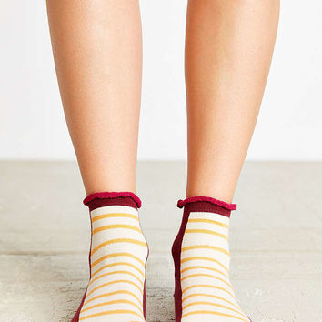 Geo Patterned Anklet Sock - Urban Outfitters