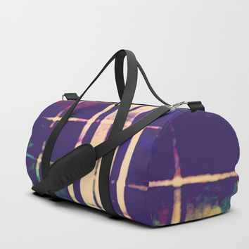 Grunge Duffle Bag by Jessica Ivy