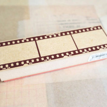 NEGATIVE FILM rubber stamp by Tokyo Antique
