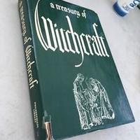 Vintage 1961 A Treasury of Witchcraft  HCDJ Harry E Wedeck
