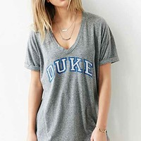 Duke University Relaxed Boyfriend Tee- Grey
