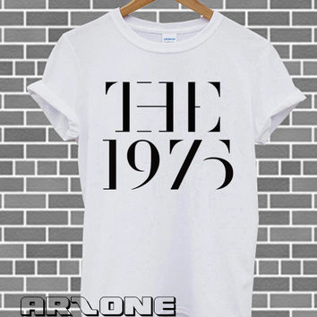 Band Shirt - The 1975 Shirt The 1975 Band T-shirt Printed Black and White Color Unisex Size - AR13