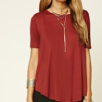 High-Low Trapeze Tee