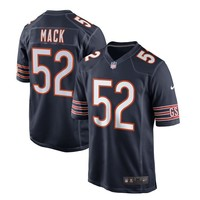 Men's Chicago Bears Khalil Mack Nike Navy Game Jersey