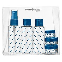 Travel Smart Toiletry Bottle Set - 6 Piece