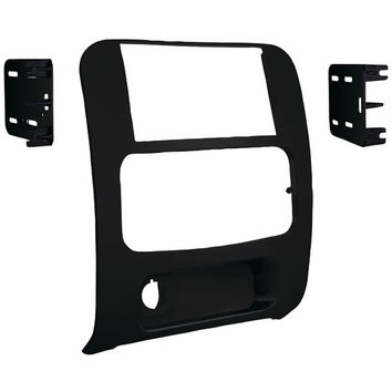 METRA 95-6524B 2002-2007 Jeep(R) Liberty Double-DIN Installation Kit, Matte Black