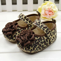 Infant Girls Shoes Soft Bottom Shoes Polka Dot Flower Toddler Shoes Baby Shoes