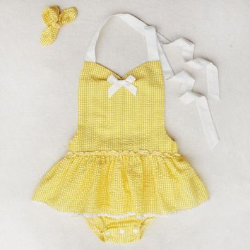 Baby Summer Sunsuit