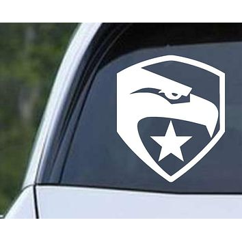 Eagle Star Military Die Cut Vinyl Decal Sticker