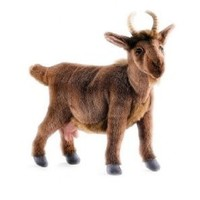 Hansa Goat Plush, Brown
