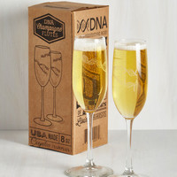 Nifty Nerd Clink Ahead Glass Set by ModCloth