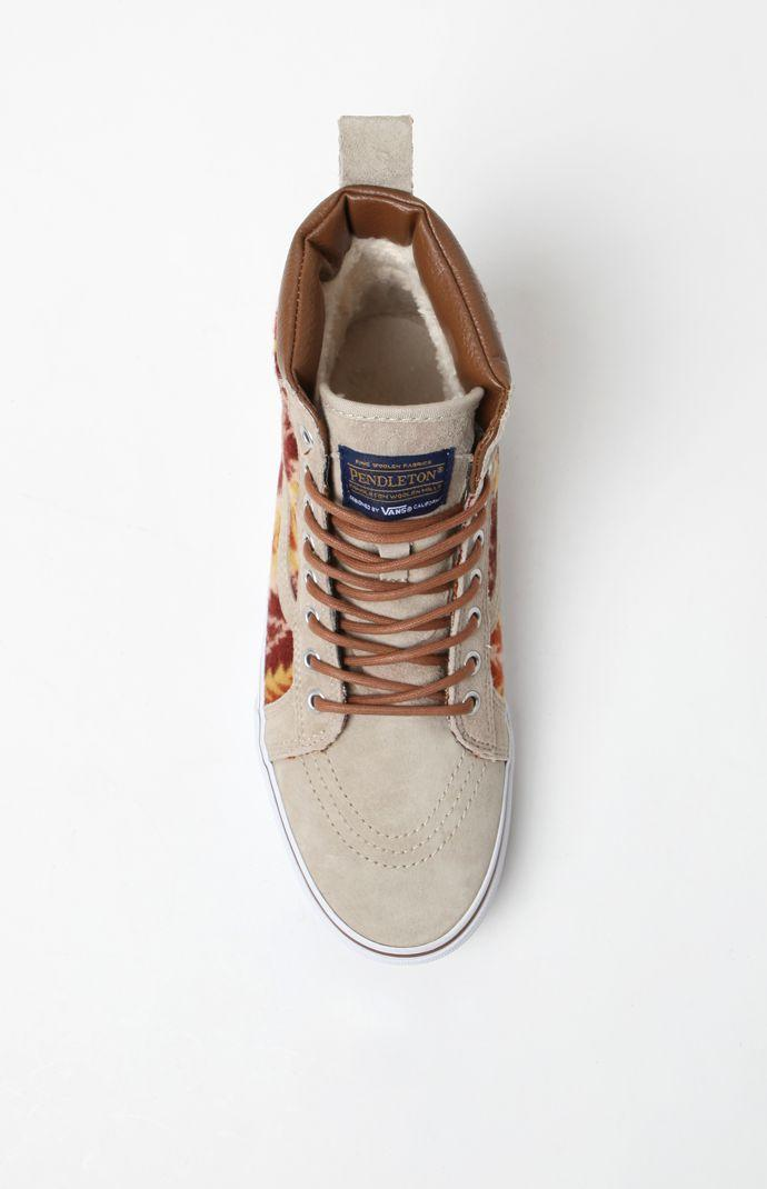 e17e477f84 Vans - Pendleton SK8-Hi MTE Tan Shoes - Mens Shoes - Brown