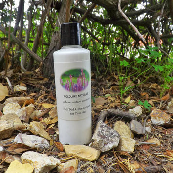 Herbal Conditioner for Fine Hair – Small Batch Handmade- Natural Hair Conditioner– Handmade Volumizing Conditioner