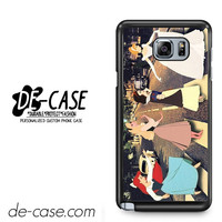 Disney Princess Cross The Abbey Road For Samsung Galaxy Note 5 Case Phone Case Gift Present