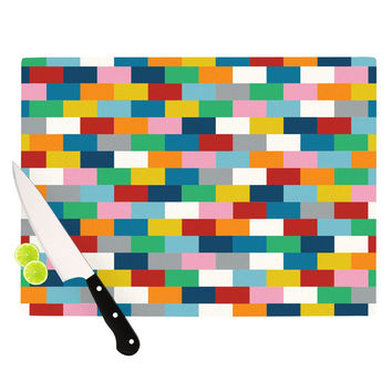 "Project M ""Bricks"" Cutting Board"