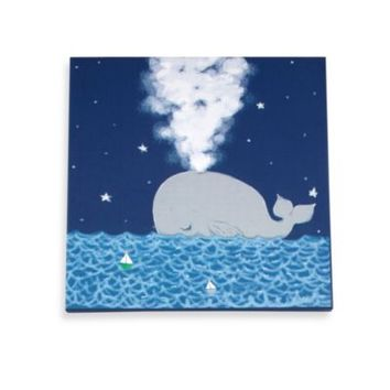 Wendy Bellissimo™ Mix & Match Whale and Stars Canvas Wall Art