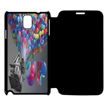 UP Colorful Samsung Galaxy Note 4 Flip Case Cover