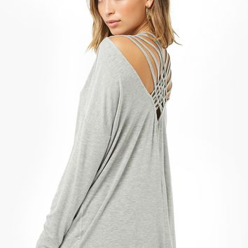 Caged-Back Top