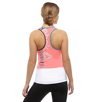 Reebok Women's LES MILLS Cycle Zip Tank Tank Tops | Official Reebok Store