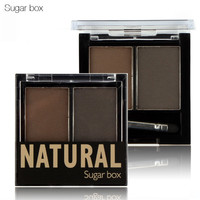 Sugarbox Eyebrow Makeup Cream Eyebrow Powder Shadow Brush Kit 4 Colors Sets Choose