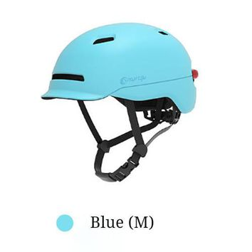XIAOMI Smart4u SH50 Cycling Helmet Intelligent Back LED Light EPS Adjustable Breathable Ventilation IPX4 Motorcycle Mountain Road Scooter
