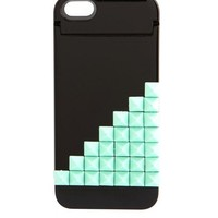 STUDDED FOLDOUT MIRROR PHONE CASE - 4