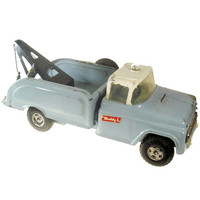 Tow Truck, Buddy L, Vintage Toy, Wrecker, Collectible