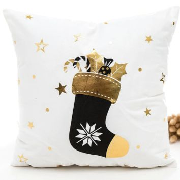 Noëlle Holiday Throw Pillow Cover