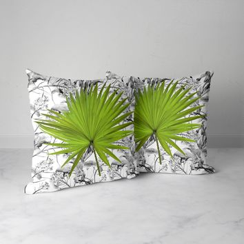 "Decorative 18""x18"" Outdoor Indoor Pillows, 2 Packs"