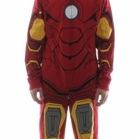 Iron Man Costume Hooded Union Suit