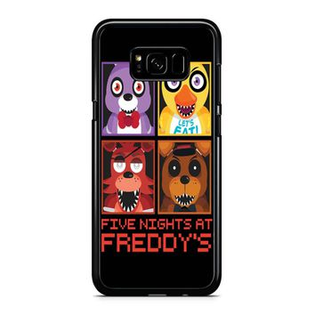 Five Nights At Freddy S Group Samsung Galaxy S8 Plus Case