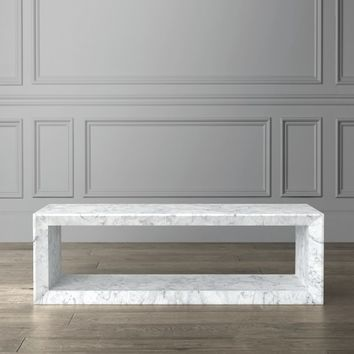 Pierre Marble Coffee Table